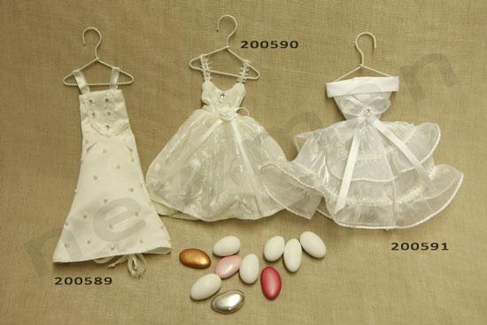 Φορεματάκια μπομπονιέρες NewMan