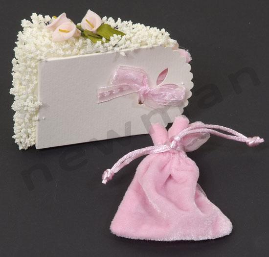 tourta leuko-roz komati k pougki