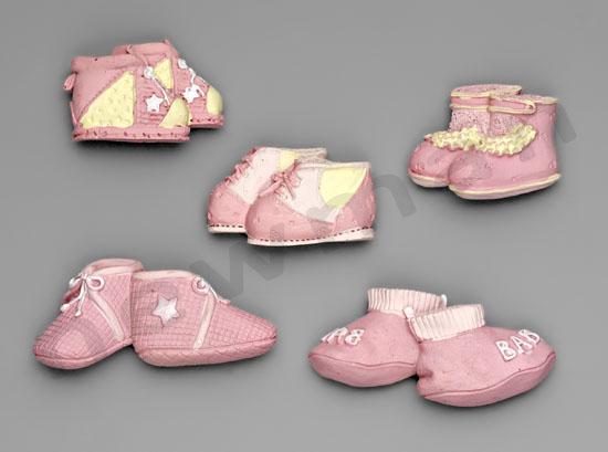 polyesterika magnitakia roz set 2 220888