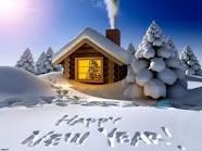 Snowy Happy New Year!