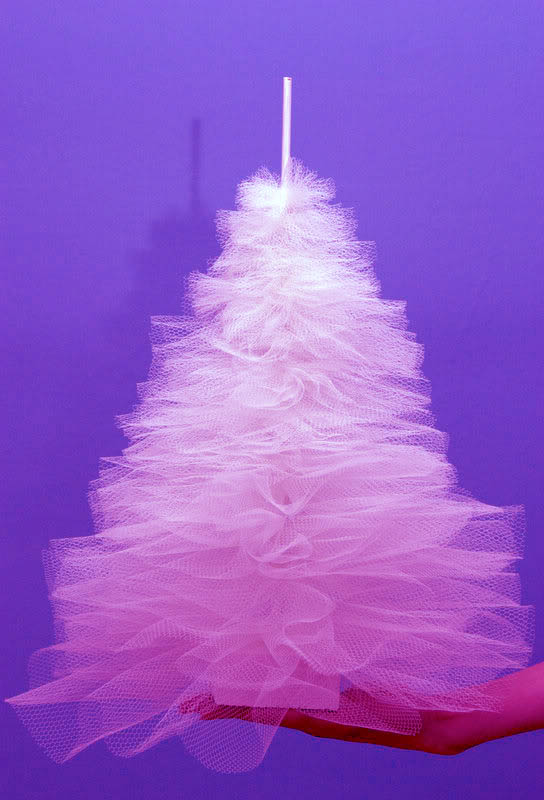 tulle-tree purple