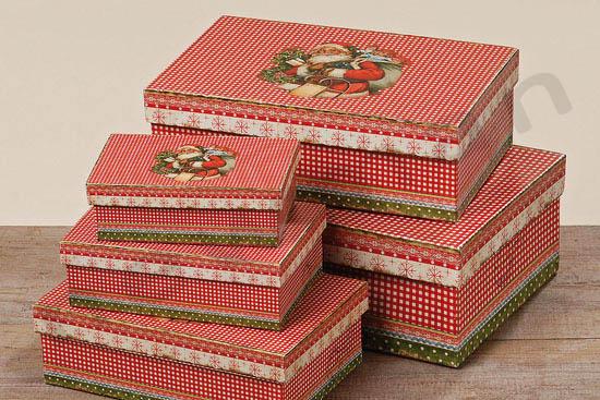 Χριστουγεννιάτικο κουτί με Άγιο Βασίλη σε 5 μεγέθη! 7f8dda4a9be