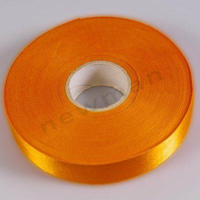 saten kordela 25mm portokali