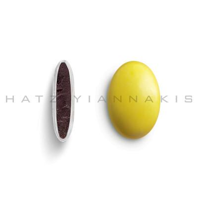 Piccolino κουφέτο χρώμα κίτρινο γυαλισμένο