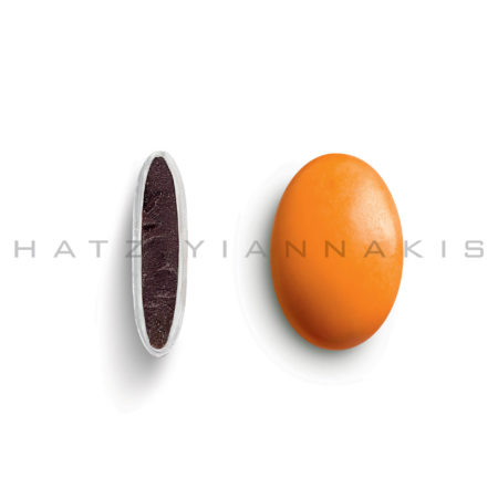Piccolino κουφέτο χρώμα πορτοκαλί γυαλισμένο