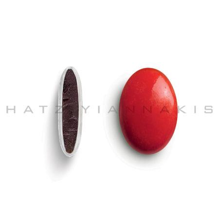 Piccolino κουφέτο χρώμα κόκκινο γυαλισμένο