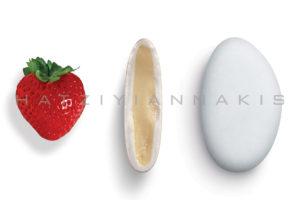 Bijoux γεύση Φράουλα κουφέτο λευκό ματ