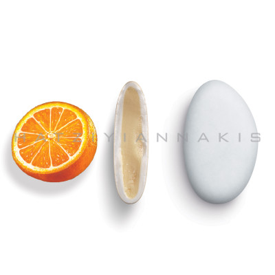 Bijoux γεύση Πορτοκάλι κουφέτο λευκό ματ