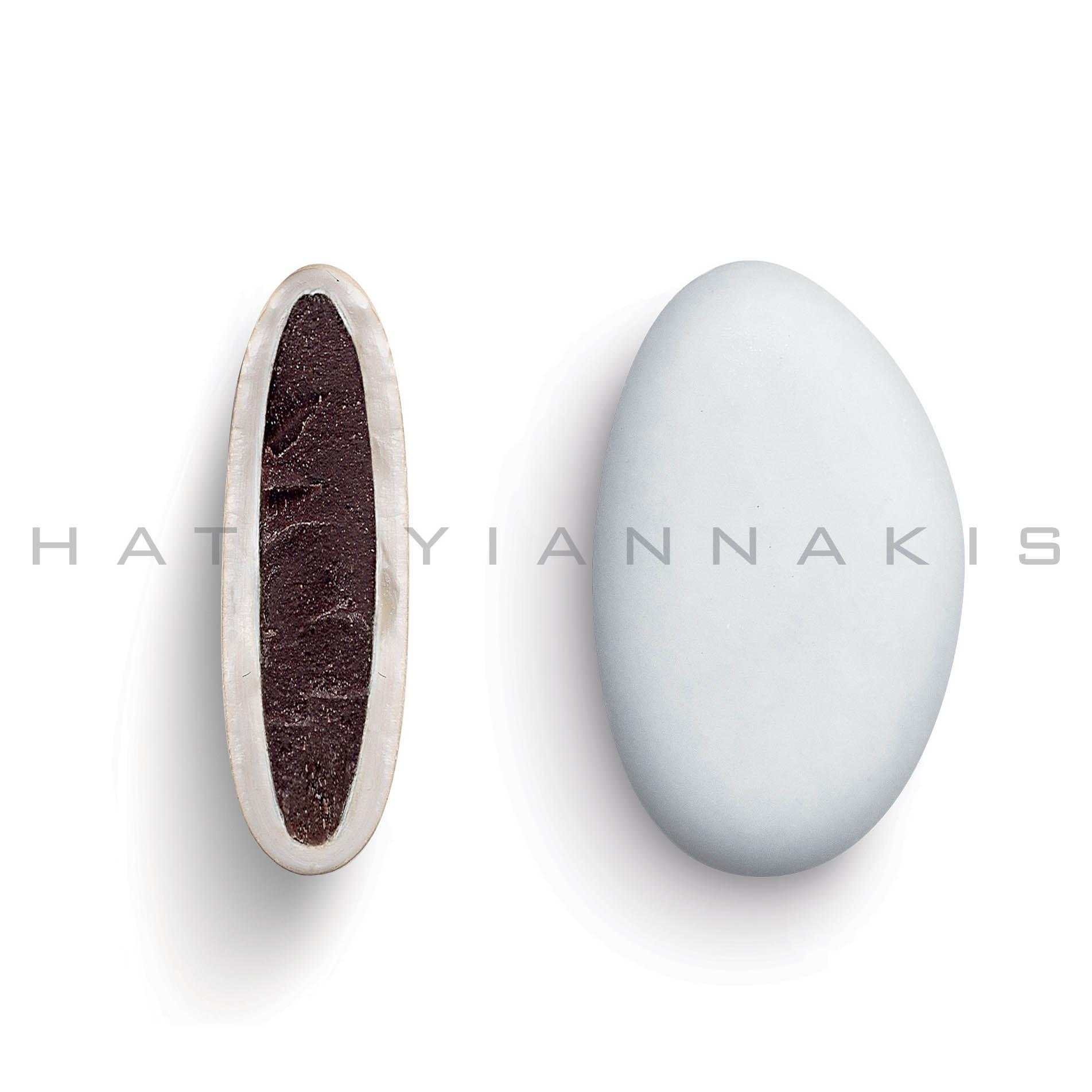 Bijoux κουφέτο σοκολάτας λευκό ματ