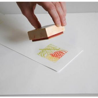 using wooden stamps 02 copy