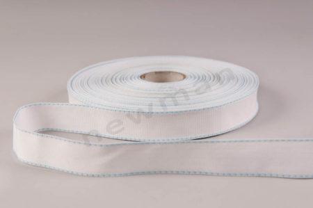 1LB Λευκή με σιελ γαζί