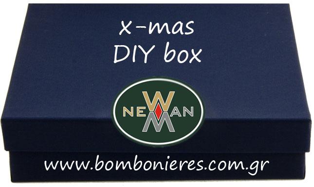 diy x-mas box newman