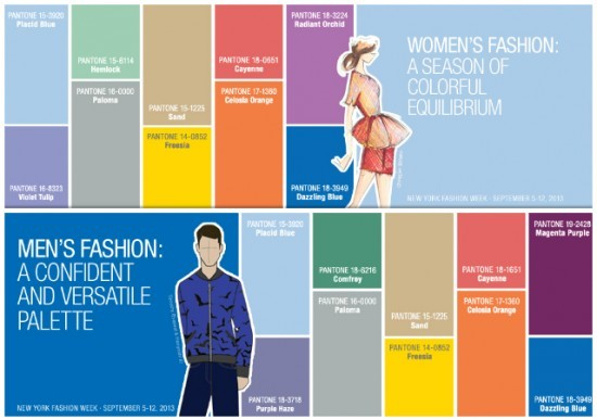 Fashion Color Report Spring 2014 by Pantone