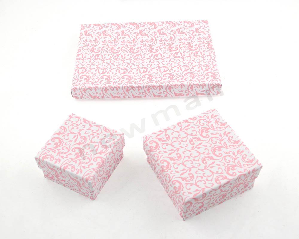003. Λευκό-ροζ φλοράλ