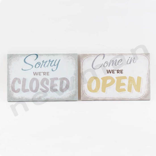 016035 open/closed canvas
