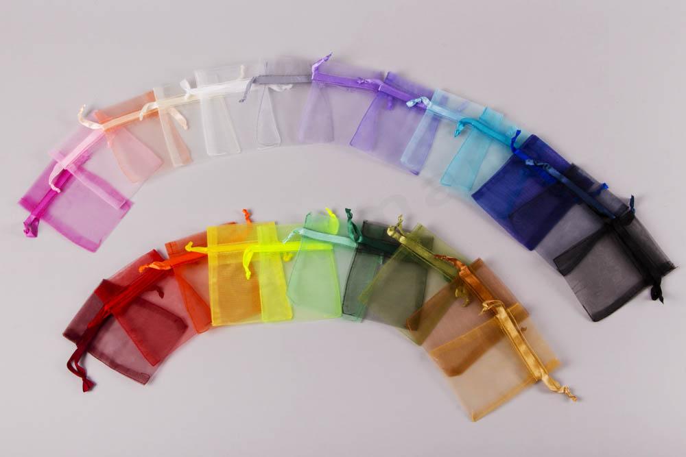 Πουγκιά Οργάντζα Χρώματα