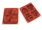 301058 ~ Φόρμα σιλικόνης παιδικά μάφινς