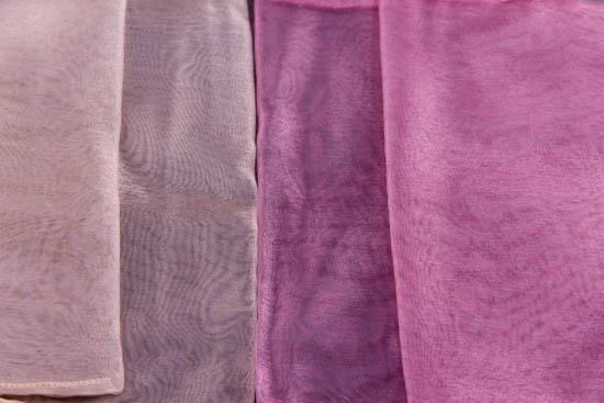 Οργαντίνα πουγκί φάκελος σε 2 χρώματα