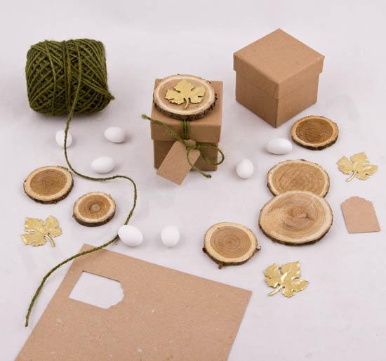 Υλικά για να φτιάξω μπομπονιέρα με φυσικό & γήινο θέμα