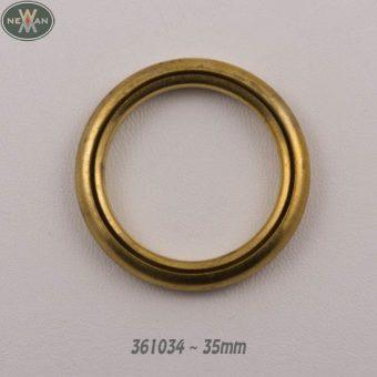 Κρίκος δαχτυλίδι χρυσό