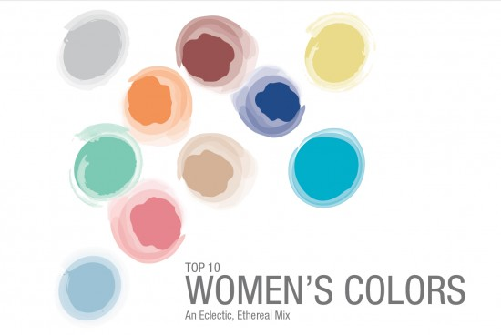 Women's Top 10 colors 2015