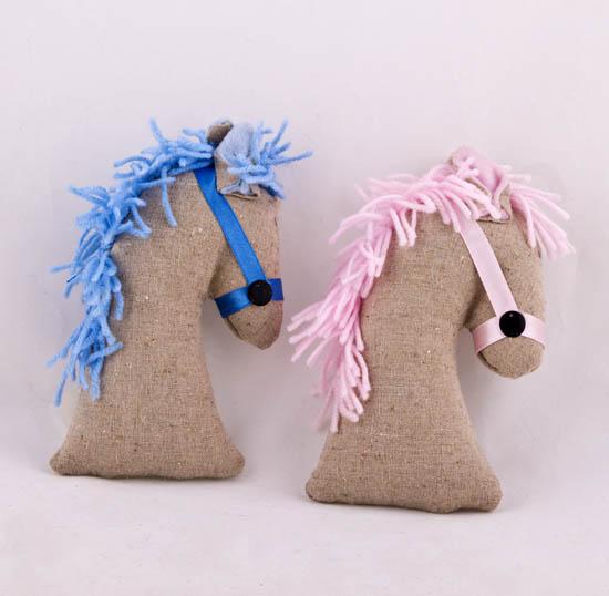 Σιελ & Ροζ αλογάκι 20cm