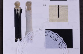 Σετ χειροτεχνίας Μανταλάκια Νύφη & Γαμπρός