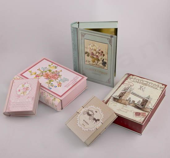 Μεταλλικά Βιβλία Κουτιά