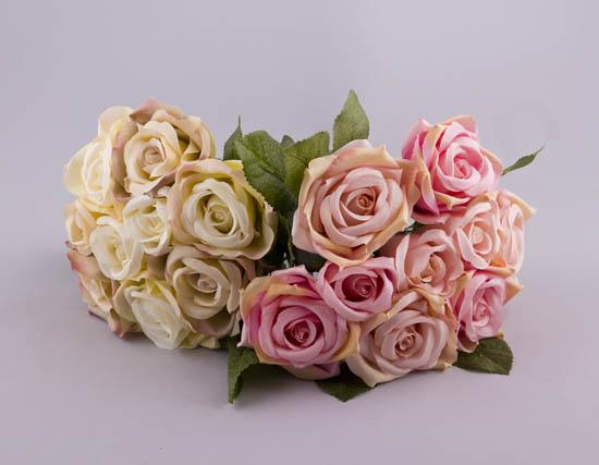 224026 ~ Μπουκέτο με 9 λουλούδια (σε 2 αποχρώσεις)