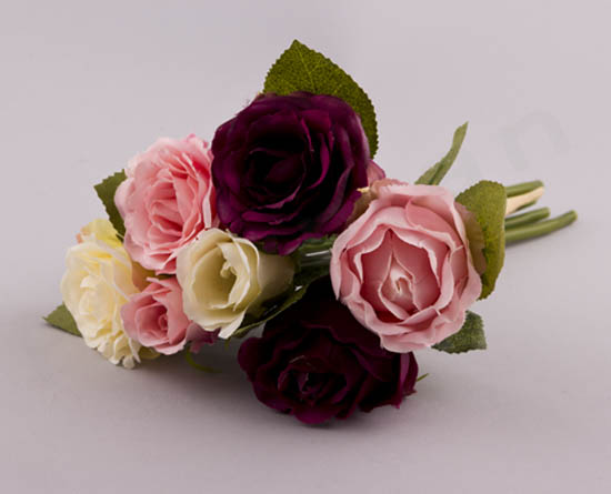 224029 ~ Μπουκέτο με 7 λουλούδια (σε 1 απόχρωση)