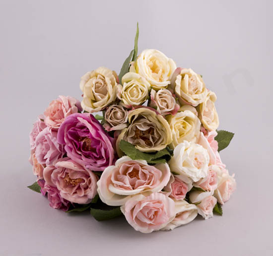 224087 ~ Μπουκέτο με 9 λουλούδια (σε 3 αποχρώσεις)