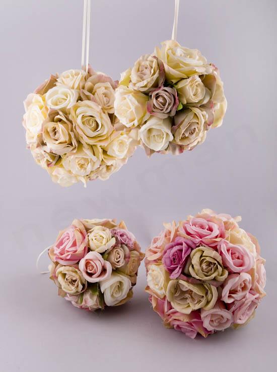 Μπάλες Vintage Τριαντάφυλλα