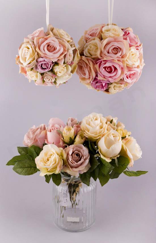Λουλούδια για στολισμό Γάμου