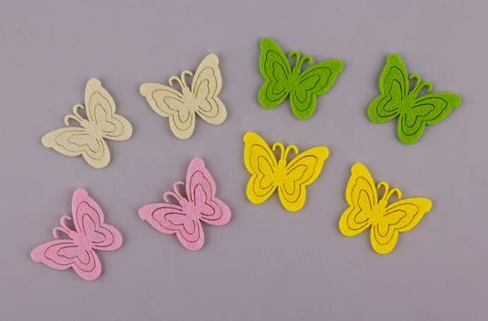Πεταλούδες τσόχινες