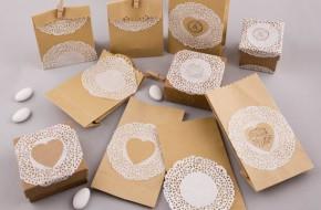 DIY χάρτινα τσαντάκια & κουτάκια
