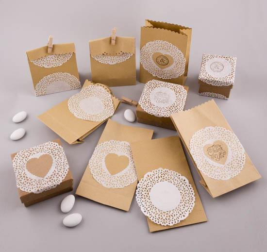 DIY χάρτινα τσαντάκια και κουτάκια