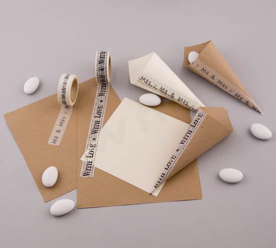 Φτιάχνω χωνάκια με υλικά χειροτεχνίας NewMan