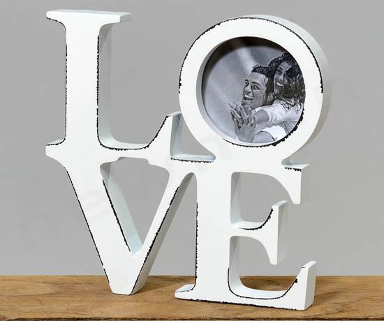 Love κορνίζα για φωτογραφία