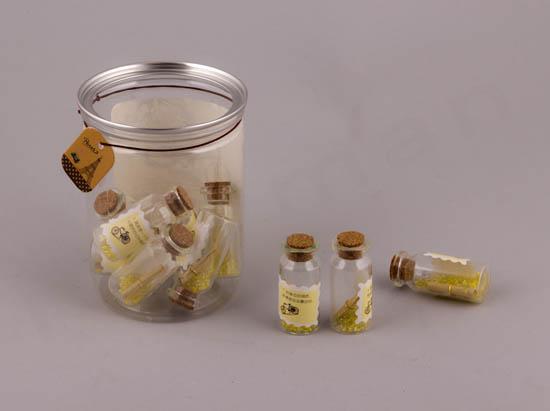 Συσκευασία με μίνι μπουκαλάκια ΚΙΤΡΙΝΟ