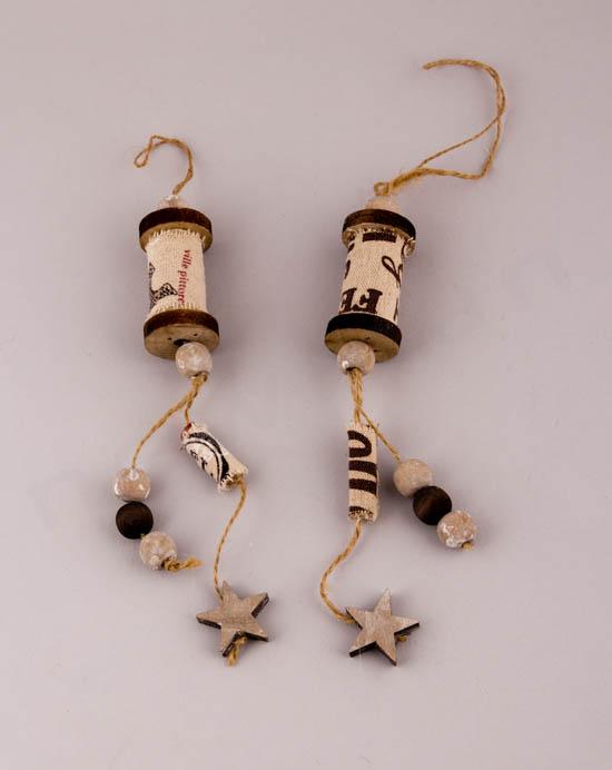 Ξύλινες κρεμαστές κουβαρίστρες