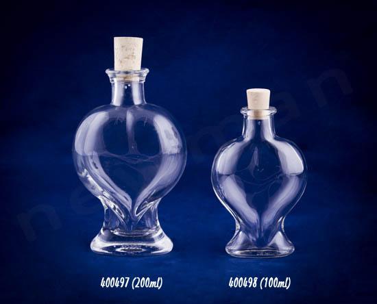 Γυάλινα μπουκάλι με φελλό