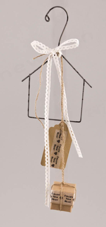 Μπομπονιέρα Σπιτάκι με 3 κουφέτα