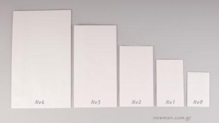 5 μεγέθη τσάντες χάρτινες