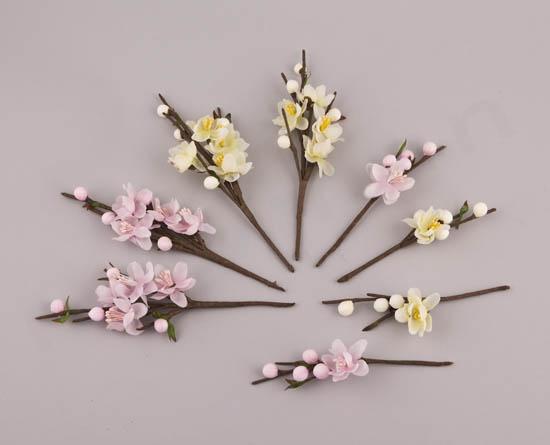 Διακοσμητικά κλαδάκια λουλουδάκια