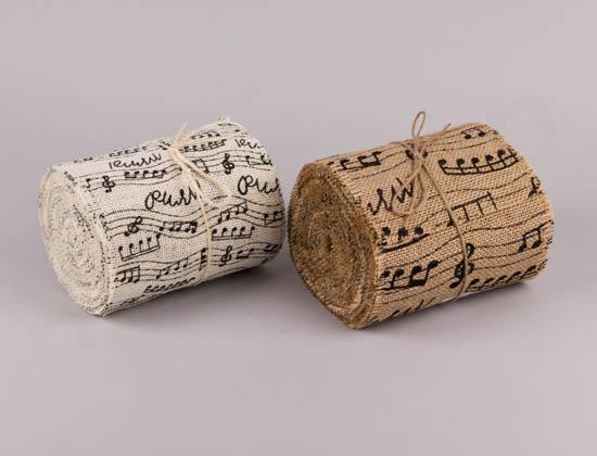 Τσουβάλι με μουσικές νότες