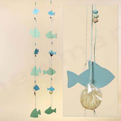 2 σχέδια ψάρια σε γιρλάντα