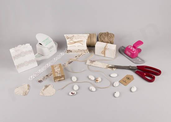 Υλικά & εργαλεία για DIY μπομπονιέρες