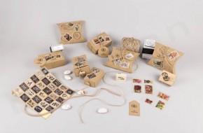 Υλικά για να φτιάξεις μπομπονιέρες ταχυδρομικά δέματα
