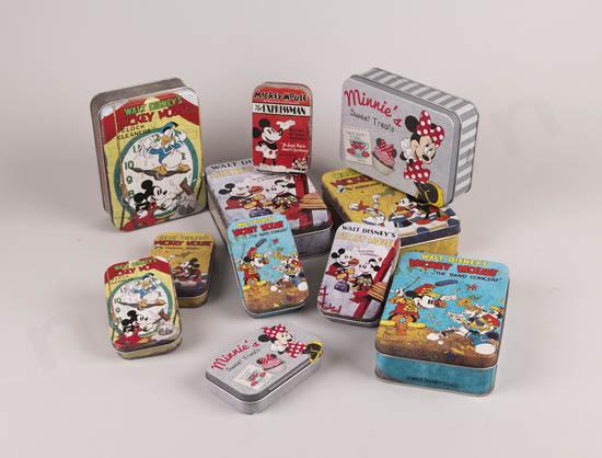 Disney μεταλλικά κουτιά