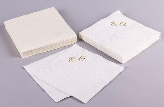 Χαρτοπετσέτες με Μονογράμματα